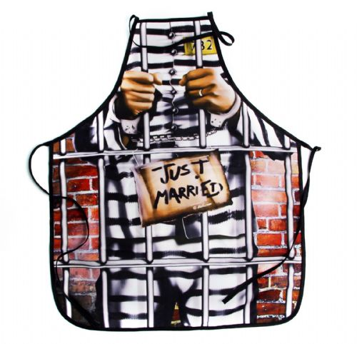 Just Married - Novelty Apron